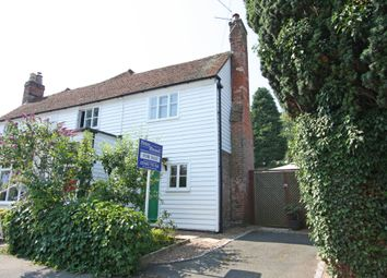 Thumbnail 1 bed semi-detached house for sale in Queen Street, Sandhurst, Cranbrook