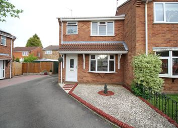 Thumbnail 3 bed semi-detached house for sale in Aintree Close, Bedworth