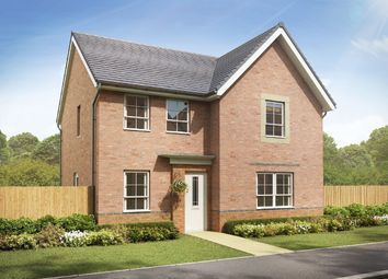 "Thumbnail 4 bedroom detached house for sale in ""Radleigh"" at Crewe Road, Shavington, Crewe"