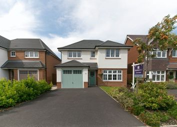 Thumbnail 4 bedroom detached house for sale in Meadowacre, Standish, Wigan