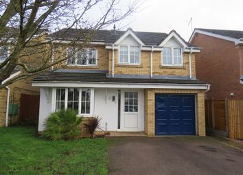 Thumbnail 4 bedroom detached house for sale in Stoke Firs Close, Wootton, Northampton