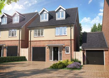 Thumbnail 4 bed detached house for sale in Off Laburnum Road, Coopersale, Essex