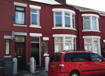 Thumbnail 3 bed terraced house to rent in Hampstead Road, Wallasey, Wirral