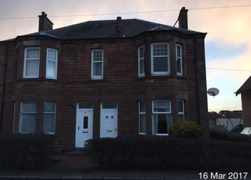 Thumbnail 2 bed flat to rent in Douglas Street, Carluke
