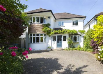 Thumbnail 4 bed detached house for sale in Parkwood Avenue, Esher, Surrey