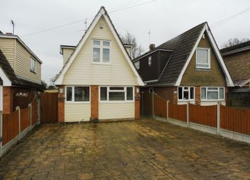 Thumbnail 3 bed detached house for sale in Burnham Road, Hullbridge, Hockley