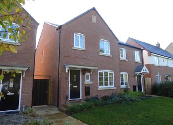 Thumbnail 3 bed semi-detached house for sale in Great Meadow Terrace, Woodside, Telford