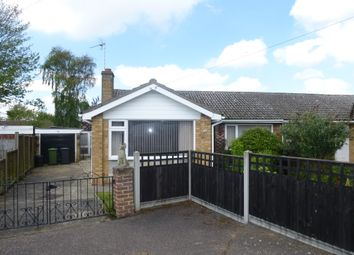 Thumbnail Semi-detached bungalow for sale in Meadow Rise, Hemsby, Great Yarmouth