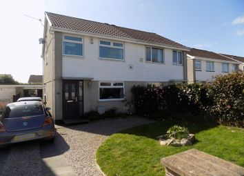 3 bed semi-detached house for sale in Hallane Road, Boscoppa, St. Austell PL25