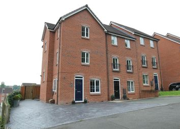 Thumbnail 4 bed terraced house for sale in Valley View, Clayton, Newcastle-Under-Lyme