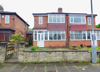 Thumbnail 3 bed semi-detached house for sale in Repton Avenue, Droylsden, Manchester