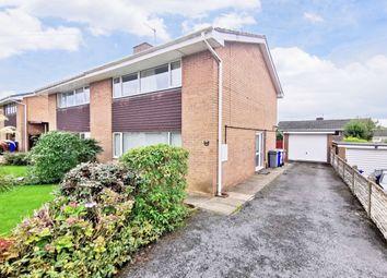 Thumbnail 3 bed semi-detached house for sale in Coleridge Road, Blurton, Stoke-On-Trent