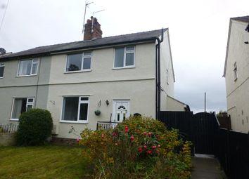 Thumbnail 3 bed semi-detached house to rent in Wrexham Road, Abermorddu, Wrexham