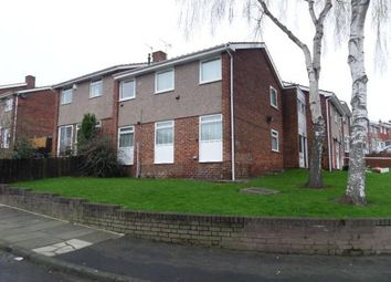 Thumbnail 1 bed flat for sale in Wetheral Gardens, Gateshead