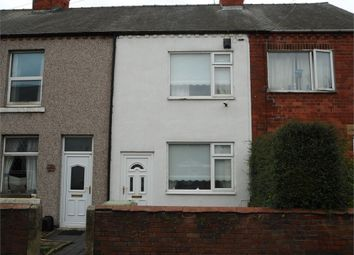 Thumbnail 3 bed terraced house for sale in Baker Street, Creswell, Worksop, Nottinghamshire
