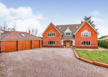 Thumbnail 6 bed detached house for sale in Hendy Road, Mold