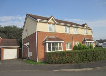 Thumbnail 4 bedroom semi-detached house for sale in Whinberry Way, Cardiff