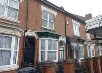Thumbnail 3 bedroom terraced house for sale in Fosse Road North, Leicester