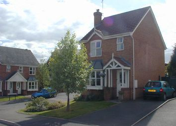 Thumbnail 3 bed detached house to rent in Franklin Close, Stapenhill, Burton-On-Trent