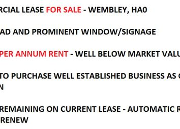 Thumbnail Retail premises to let in East Lane, Wembley
