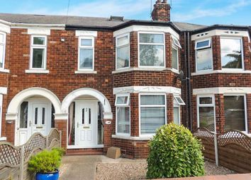 Thumbnail 3 bedroom terraced house for sale in Bricknell Avenue, Hull
