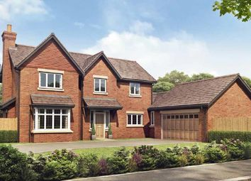 Thumbnail 4 bed detached house for sale in Congleton, Cheshire