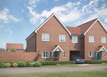 Thumbnail 4 bed semi-detached house for sale in Regiment Gate, Off Essex Regiment Way, Chelmford, Essex