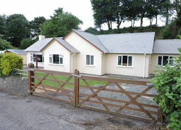 Thumbnail 4 bed detached bungalow for sale in Brynteg, Llanybydder