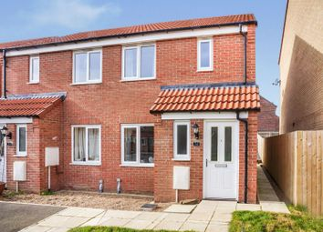 Thumbnail 2 bed semi-detached house for sale in Cupola Close, North Hykeham
