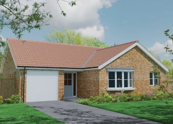 Thumbnail 3 bed detached bungalow for sale in New Detached Bungalow, The Park, Eastfield Road, Louth