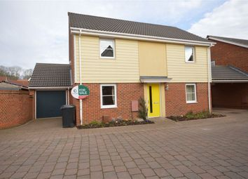 Thumbnail 4 bedroom link-detached house for sale in Stockwell Road, Queens Hills, Costessey, Norwich