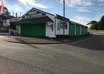 Thumbnail Commercial property for sale in Freehold Mot Station & Garage NP22, Blaenau Gwent