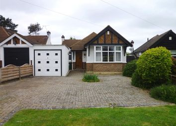 Thumbnail 2 bed detached bungalow for sale in The Warren, Worcester Park, Surrey.