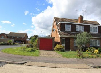 Thumbnail 3 bed semi-detached house for sale in Throwley Close, Pitsea, Basildon