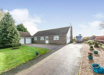 Thumbnail 3 bed detached bungalow for sale in Old Bury Road, Stuston, Diss