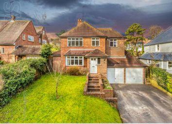 Thumbnail 4 bed detached house for sale in Hoe Lane, Abinger Hammer, Dorking