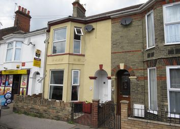 Thumbnail 3 bedroom terraced house to rent in Beaconsfield Road, Lowestoft