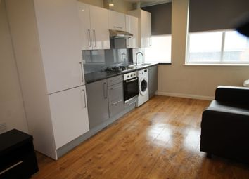 Thumbnail 2 bed flat to rent in Vaughan Way, Leicester