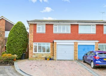 Thumbnail 4 bed semi-detached house for sale in Sheddingdean Close, Burgess Hill