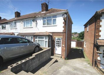 Thumbnail 2 bed terraced house to rent in Hawthorn Road, Rochester, Kent