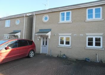 Thumbnail 3 bed semi-detached house for sale in Water Vole Close, Stowmarket