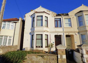 Thumbnail 4 bedroom semi-detached house for sale in Stafford Road, Weston-Super-Mare