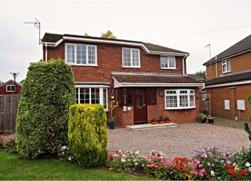 Thumbnail 4 bed detached house for sale in Octagon Drive, Wisbech