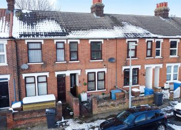 Thumbnail 3 bed terraced house for sale in Hill House Road, Ipswich