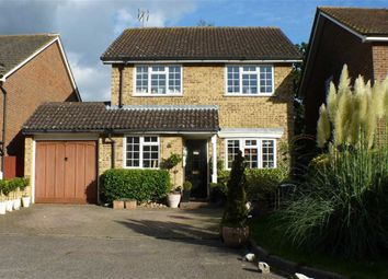 Thumbnail 3 bed detached house for sale in Sanway Close, Byfleet, Surrey