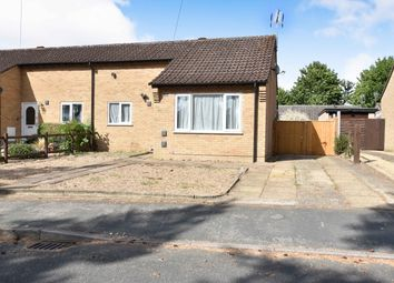 Thumbnail 2 bed semi-detached bungalow for sale in Rowan Drive, Brandon, Suffolk