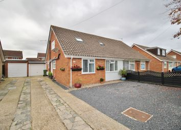 Thumbnail 3 bed semi-detached bungalow for sale in Oaklands Way, Fareham