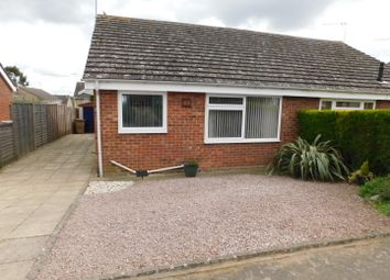 Thumbnail 2 bedroom semi-detached bungalow for sale in Quinton Road, Needham Market