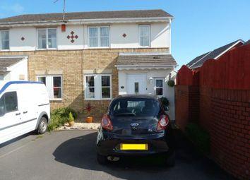 Thumbnail 3 bedroom semi-detached house for sale in Rhodfa Sweldon, Barry