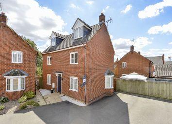 Thumbnail 4 bed detached house for sale in Gapstile Close, Desborough, Kettering